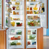 Либхер – холодильник, встраиваемый в любую кухню